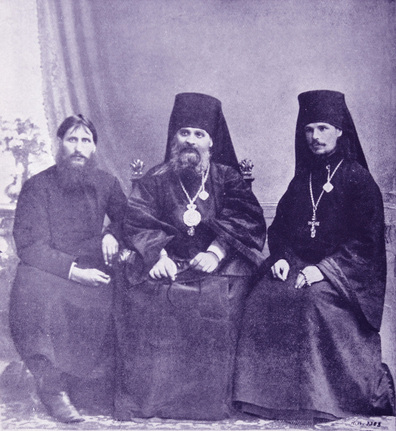 PictureRasputin, the Bishop Hermogen, and the Monk-Priest Iliodor